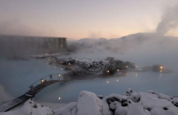 Blue Lagoon Geothermal Resort in Grindavk, Iceland