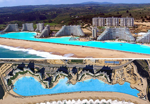 San Alfonso del Mar in Chile